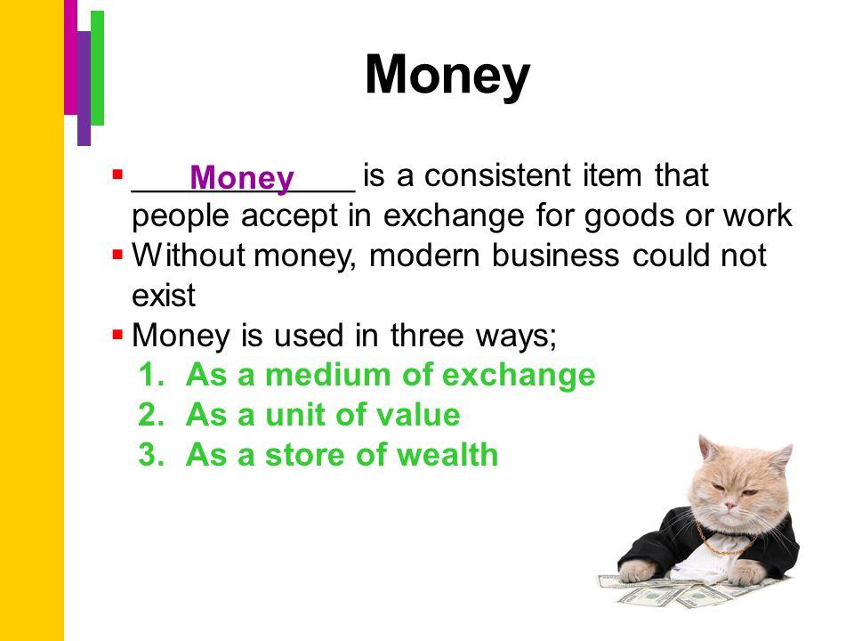 How money exchange works