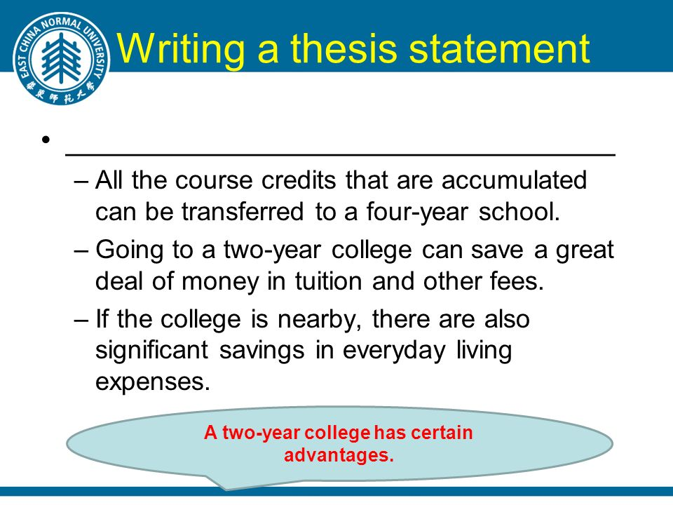 writing thesis statements elementary Top 5 education thesis topics writing your thesis is a big job for any field of study in education, it is no different, and you must be prepared for it.