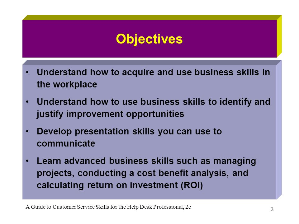 professional customer service skills