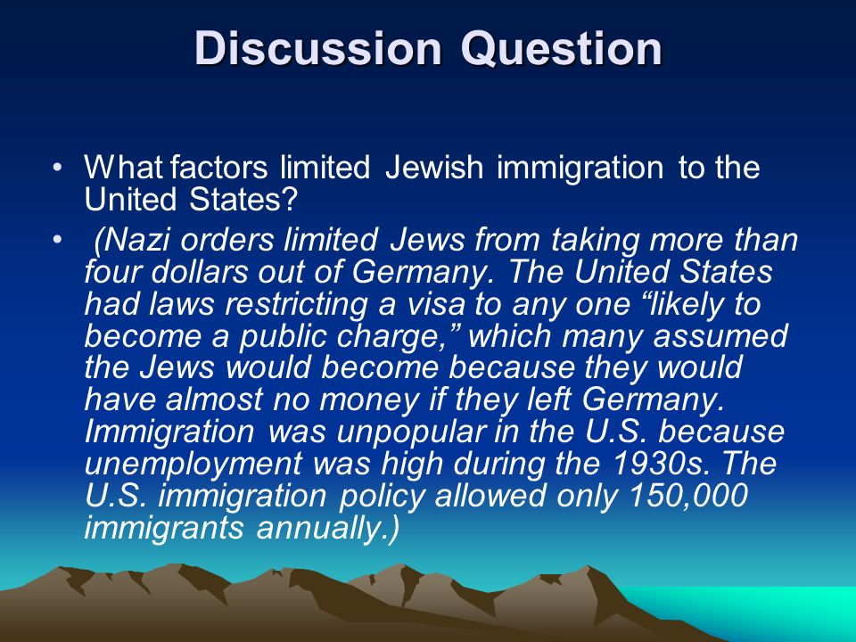 a discussion about the immigration problem in united states A debate about how to enforce the existing law tends to supersede discussion of   immigration to the united states has not, historically, been an act of kindness   few of our problems can be solved by curtailing immigration.