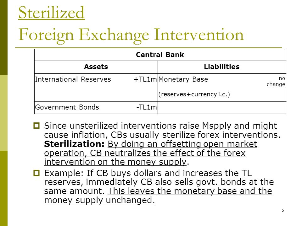 "a brief introduction of the intervention in the foreign exchange market An introduction to the foreign exchange markets one type of government intervention retail and inter-bank market the ""spot"" market for foreign."