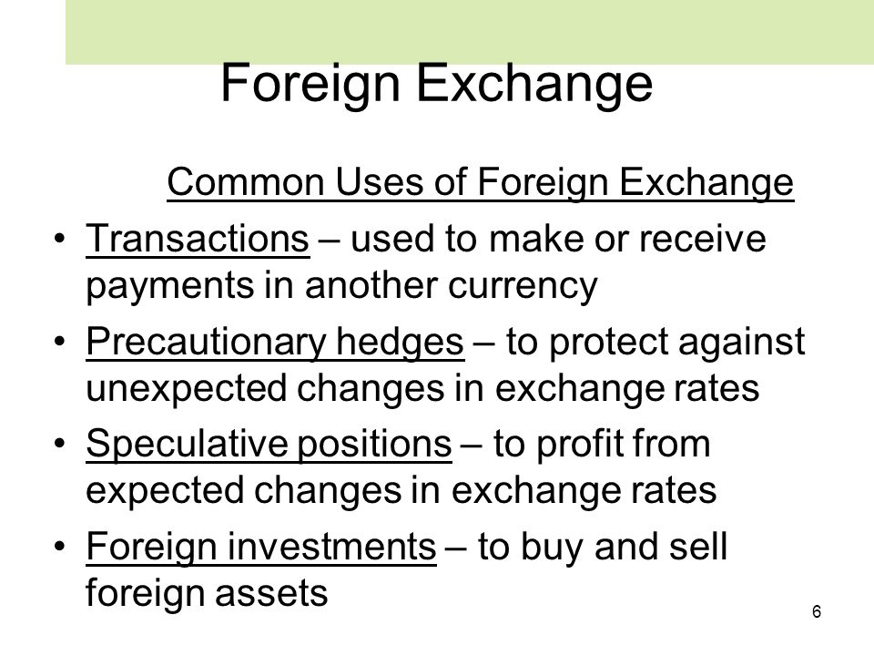 Exchange rates buy and sell