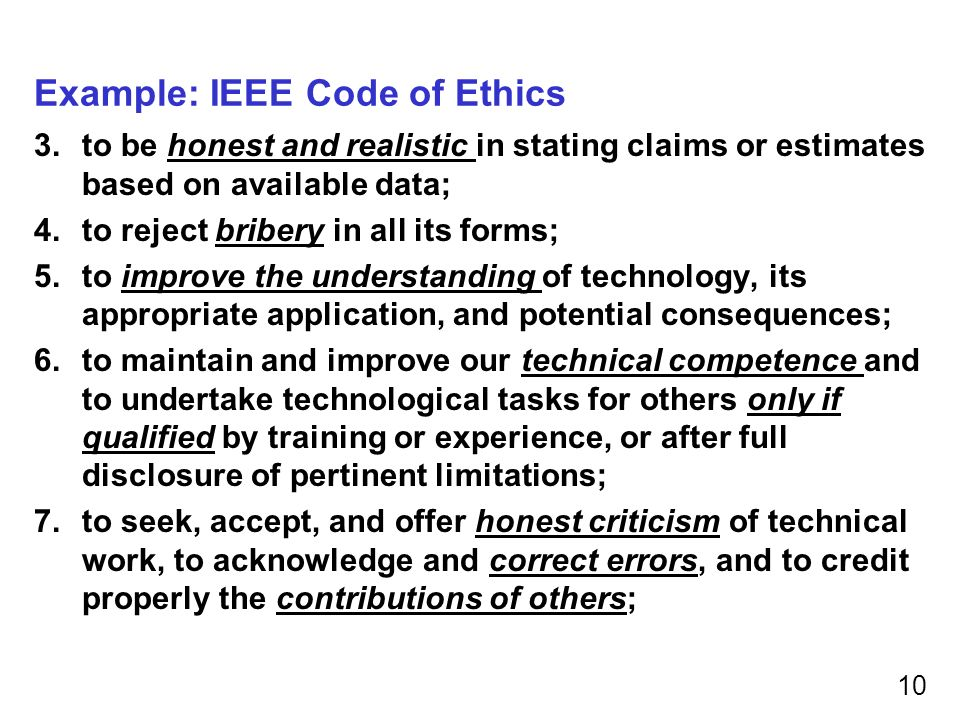 Engineering Ethics Ece/Cs 252, Fall 2010 Prof. Mikko Lipasti - Ppt