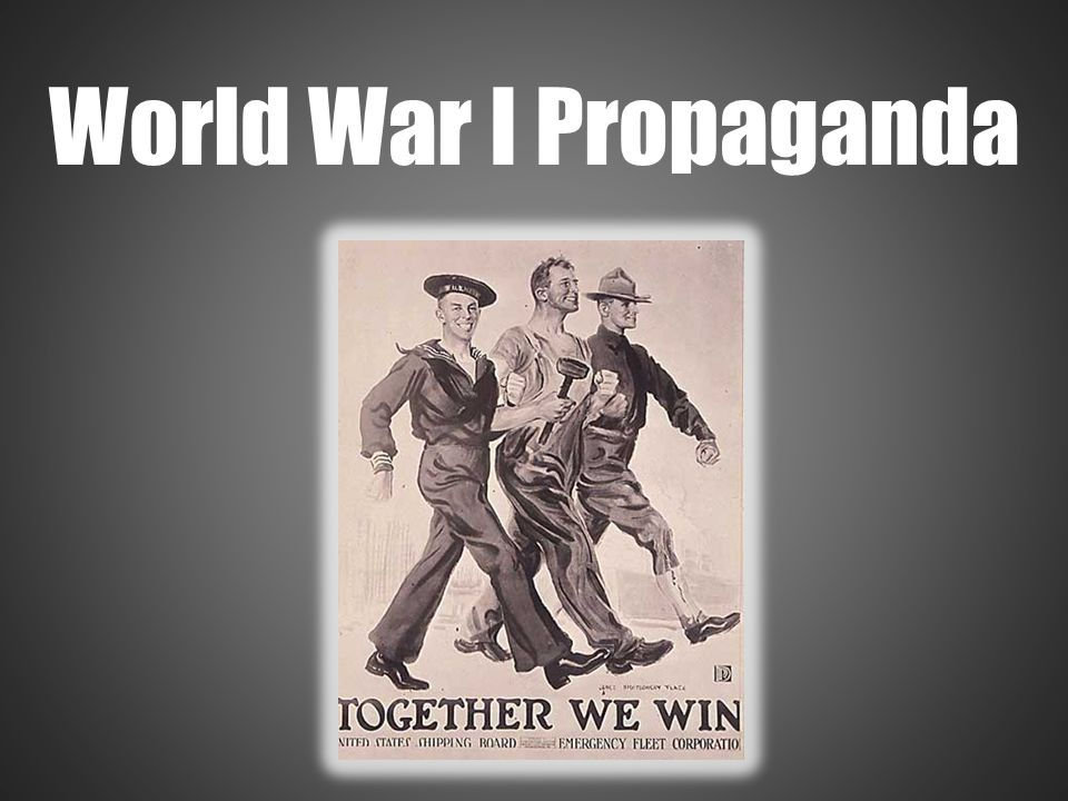 a discussion of war propaganda in world war i A collection of world war i topics - from major nations before the war, to post-war treaties and reconstruction written by alpha history authors.