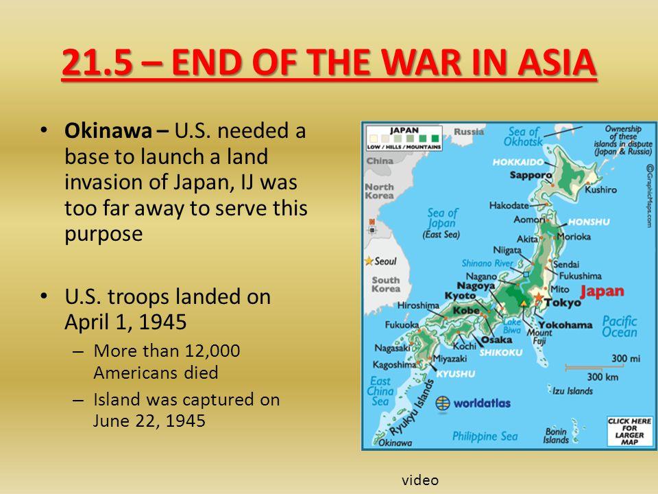 land war in asia