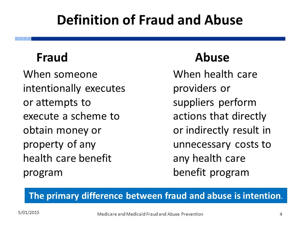 The Challenge of Health Care Fraud