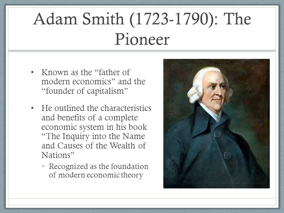 adam smith theory of growth Adam smith's theory of economic growth is based on classical thought , also called as the optimistic theory according to adam smith , the process of development never comes to an end  capital accumulation has two favourable effects.