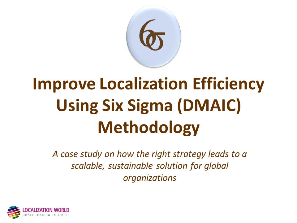 how to use dmaic methodology