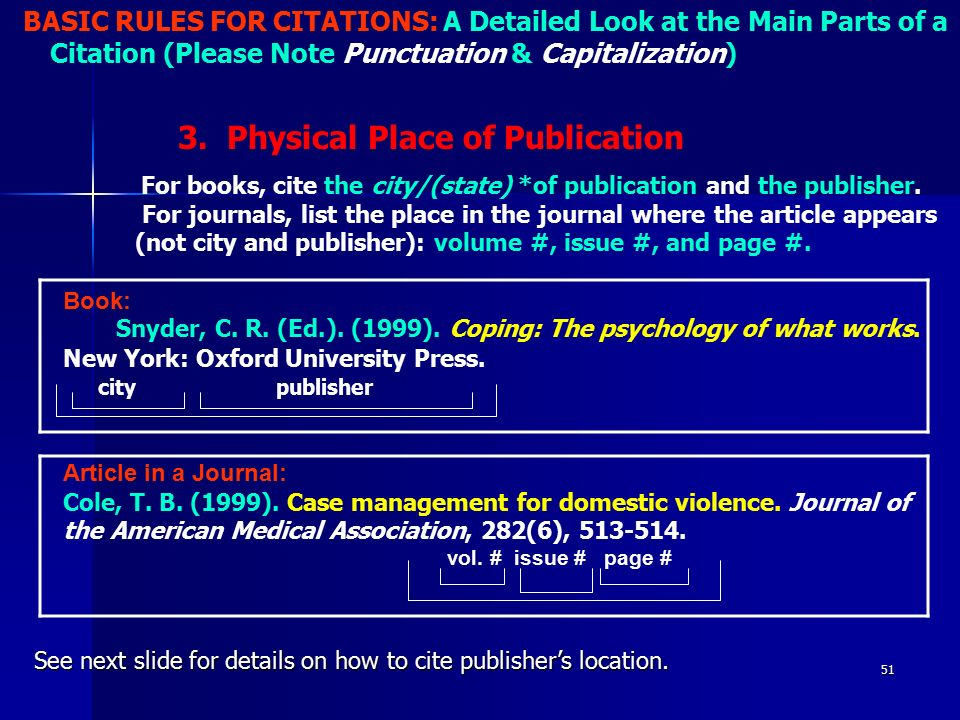 captilzation rules coles Rocky mountain research station, author standards 13 2 september   capitalization, abbreviation, acronyms, word useage  cole, david n 1995a.