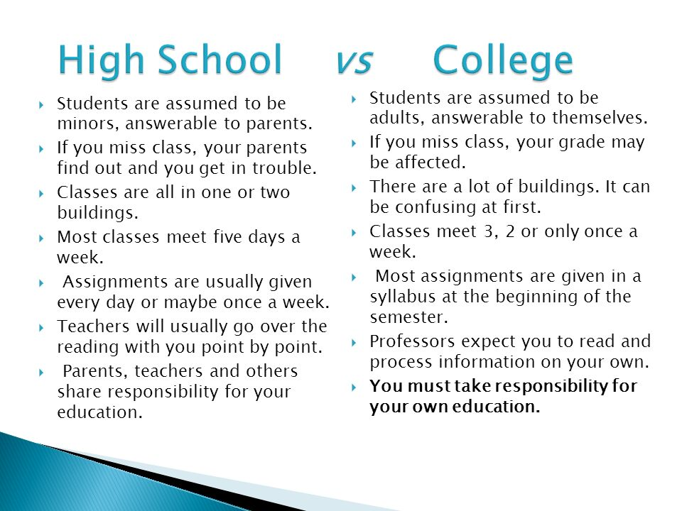 high school vs college rough draft View essay - rough draft high school and college il from english 10 at south texas college high school and college comparison the high school was a good of our lives.