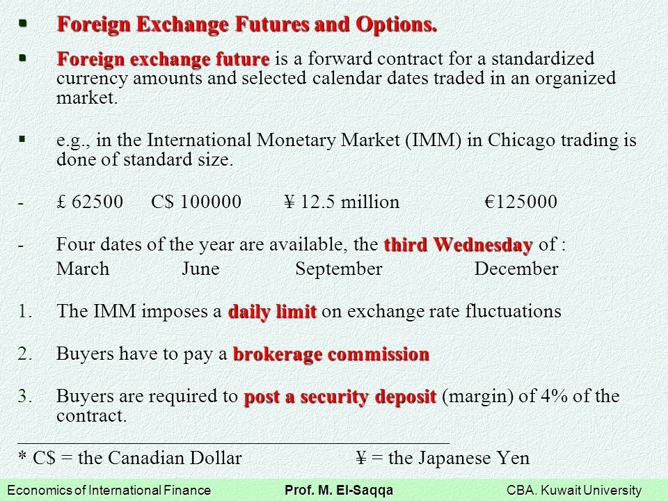 Where are foreign currency options traded