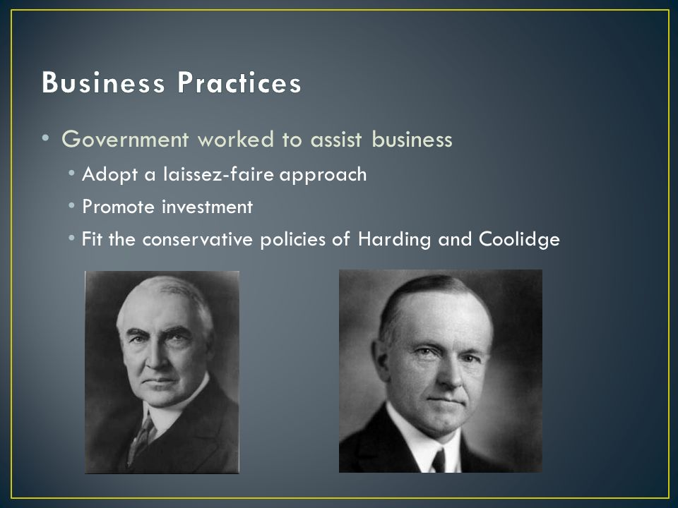 "Focus Question: ""The Business of America is Business. - ppt video"
