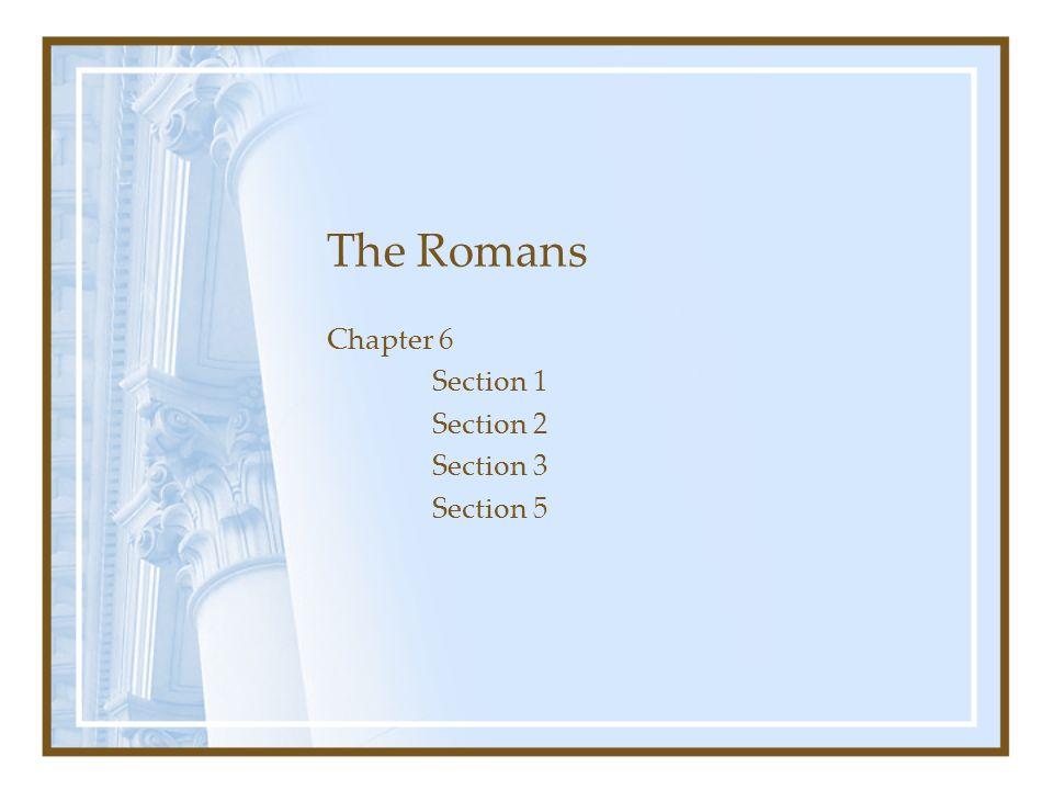 Chapter 6 Section 1 Section 2 Section 3 Section 5