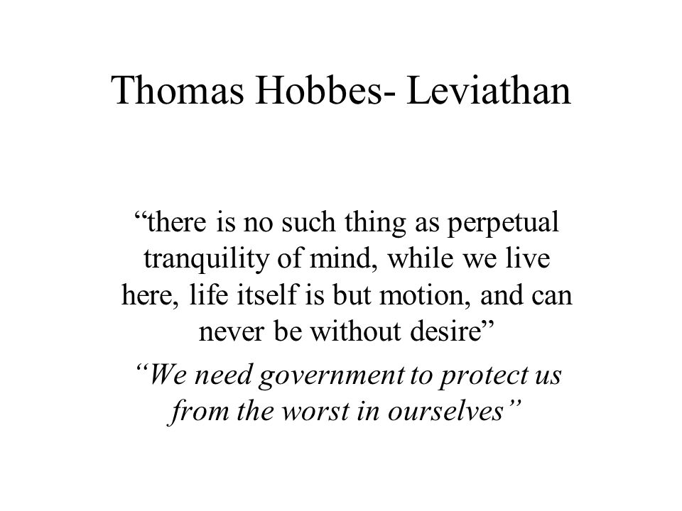 nature and reason in thomas hobbess leviathan and platos republic In this lesson, we discuss one the key political theorists of the 17th century, the englishman thomas hobbes, whose theories concerning absolutism.