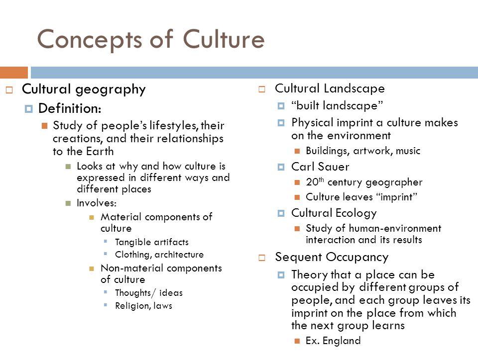 concept of culture essay
