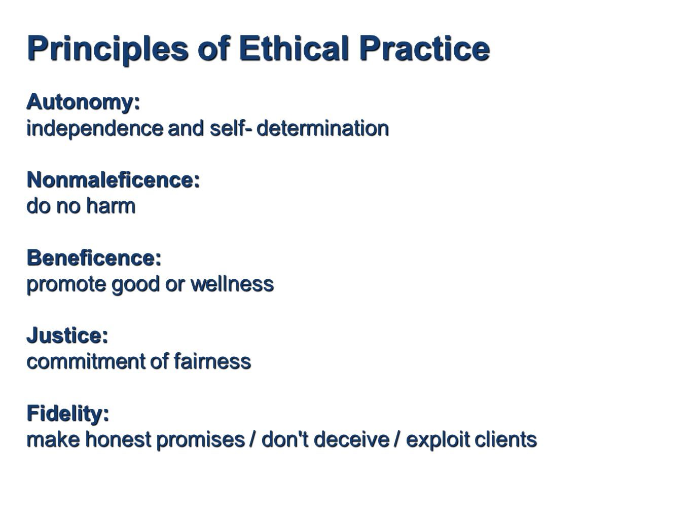 WHO Ethics