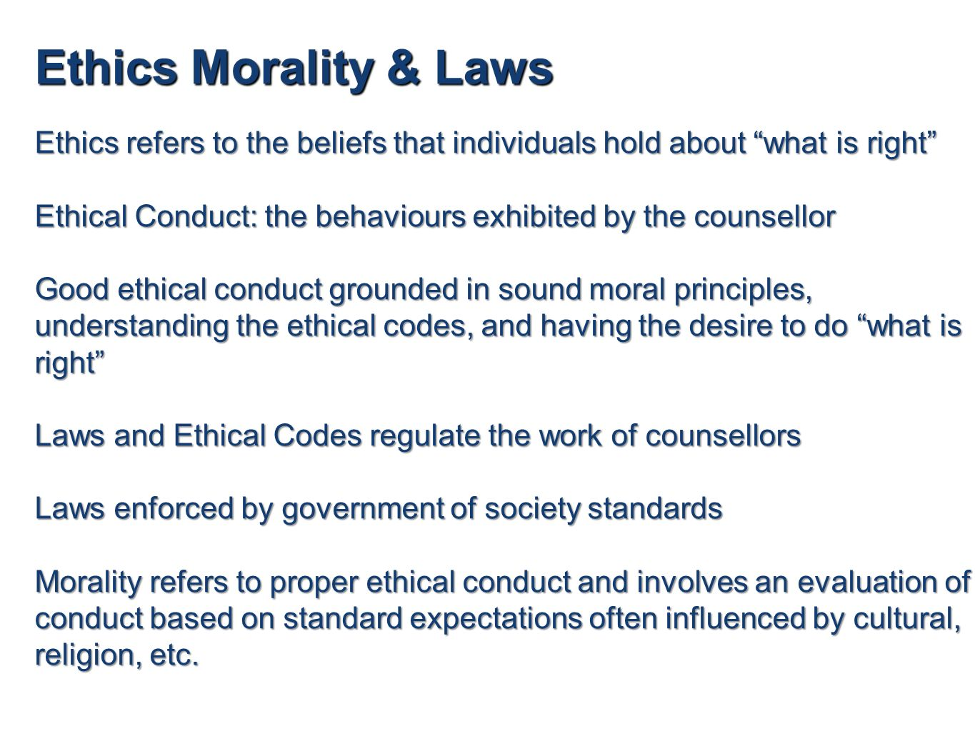 counselling and ethics Download legal issues in counselling psychotherapy ethics in practice series ebook pdf or read online books in pdf, epub, and mobi format.