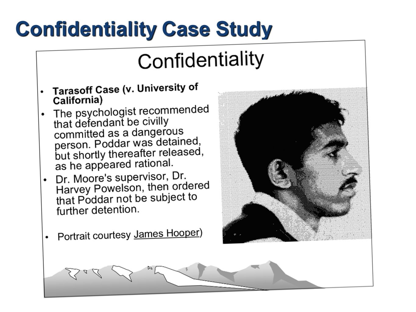 a case study to demonstrate confidentiality Click the link below to download the full case study non-disclosure to auditors the culture and the bribe allegedly paid to the overseas company and still demonstrate confidentiality - is there any basis in which you could or should make disclosures professional behaviour - how.