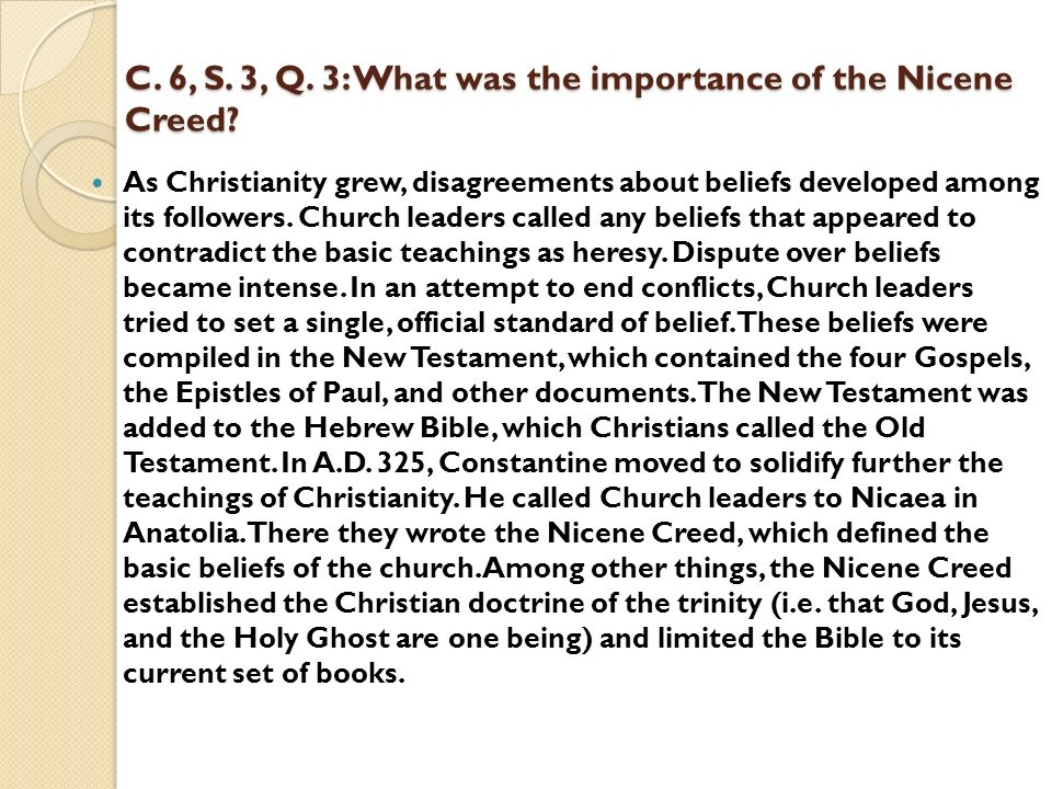 the importance of the trinity to christians Many of the doctrines central to christianity have important philosophical implications or presuppositions in this article, we begin with a brief general discussion of the relationship between philosophy and christian dogma, and then we turn our attention to three of the most philosophically challenging christian doctrines: the trinity, the incarnation, and the atonement.