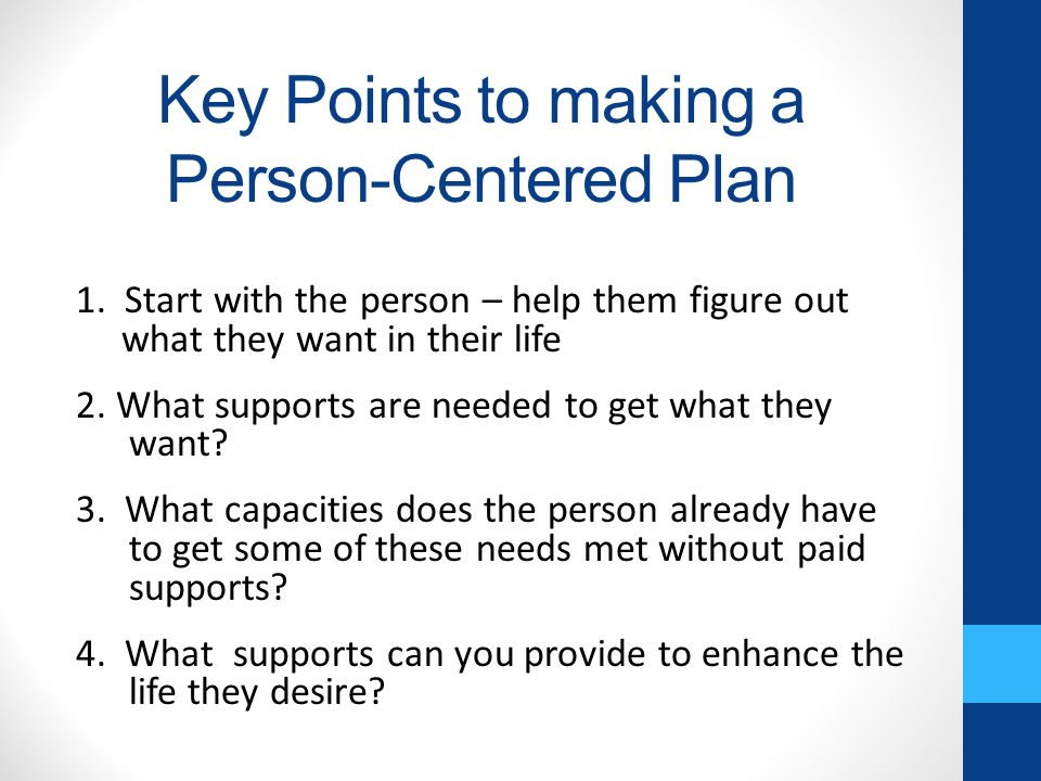 how to provide a safe person centred