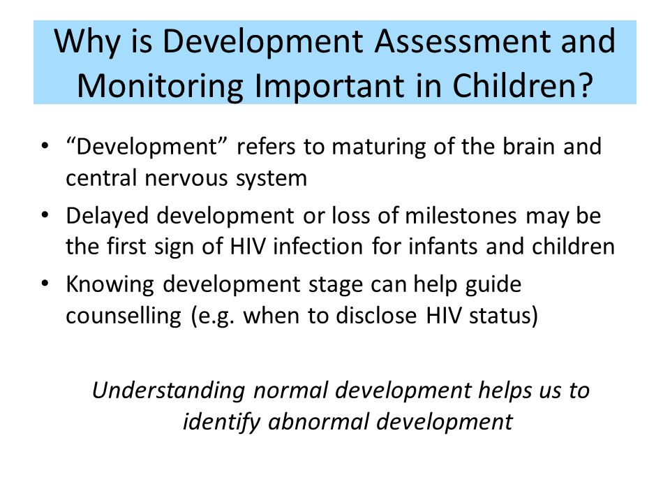 Module I Essential Background For Paediatric Hiv