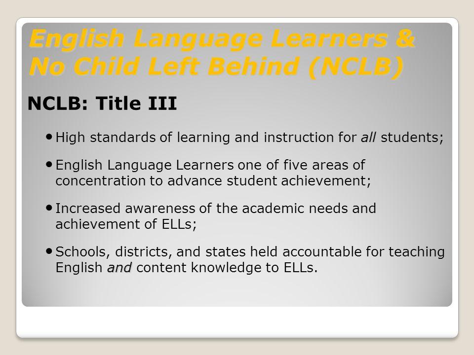 lau vs nichols english language learners Language barrier: bilingual education vs english  educating english language learners: history of lau vs nichols  bilingual education vs english immersion.