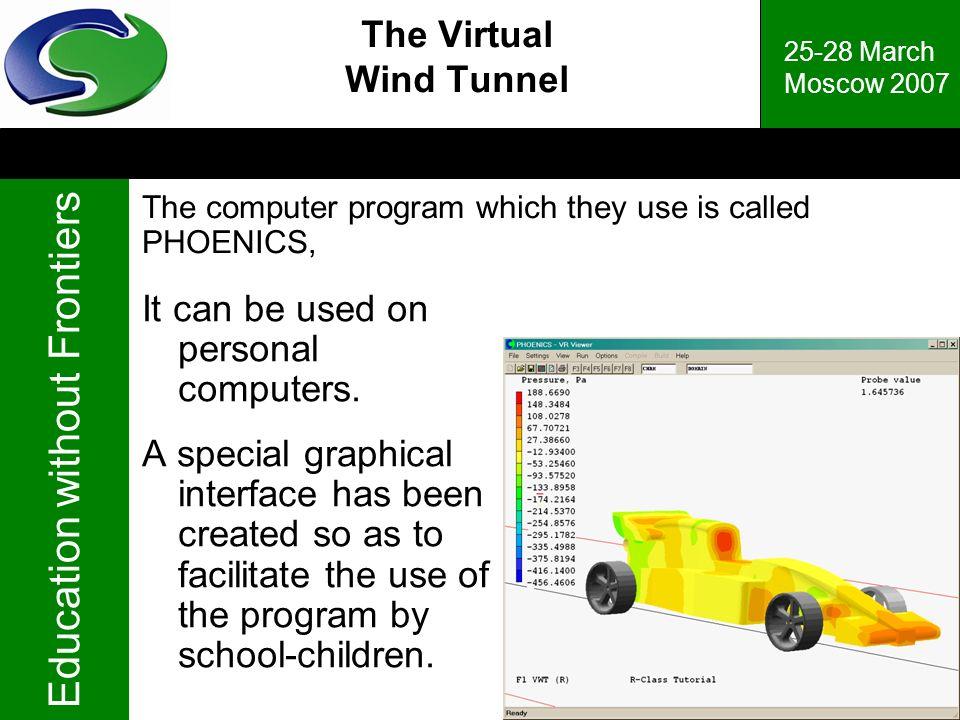 The Virtual Wind Tunnel