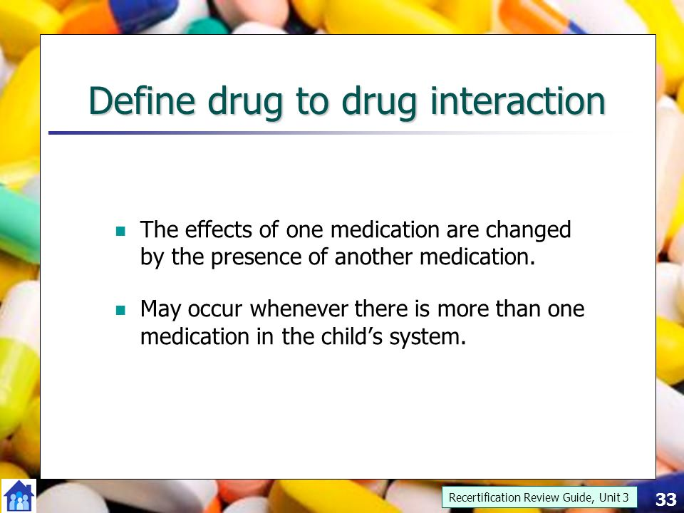 Drug Interaction - an overview | ScienceDirect Topics