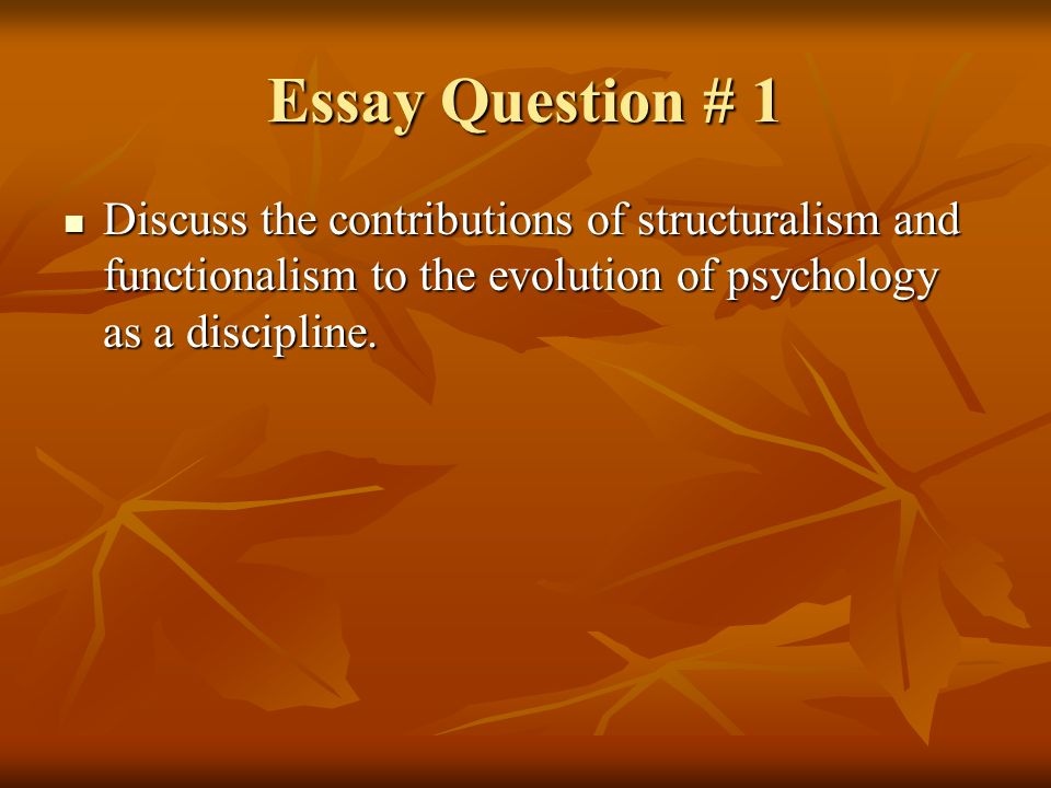 essay on evolutionary psychology Disclaimer: this essay has been submitted by a student this is not an example of the work written by our professional essay writers you can view samples of our professional work here any opinions, findings, conclusions or recommendations expressed in this material are those of the authors and do .