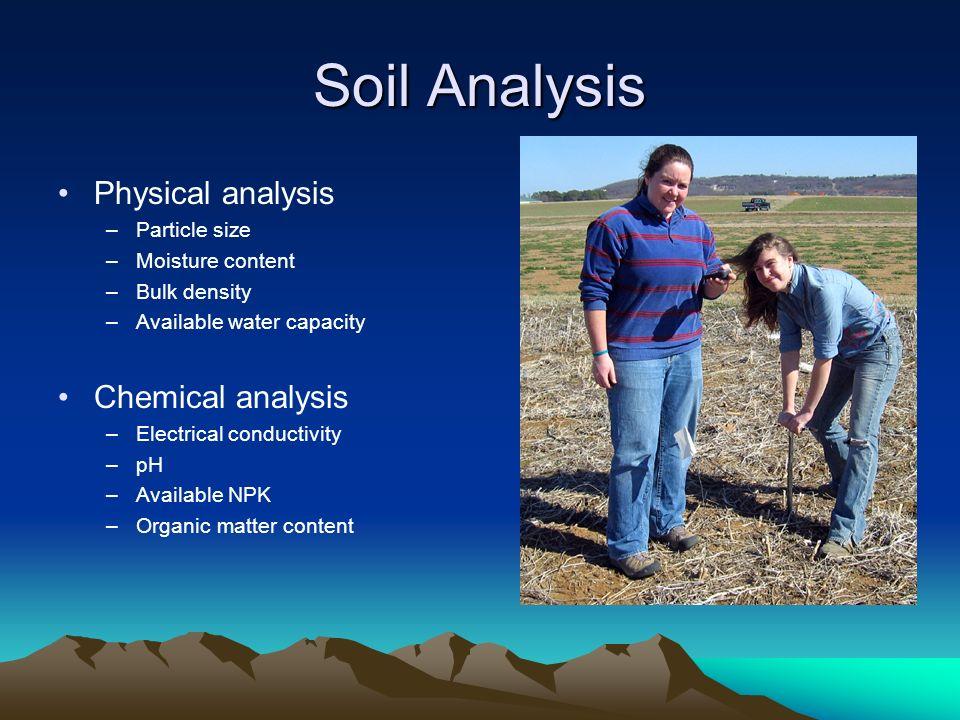 physical analysis of water pdf