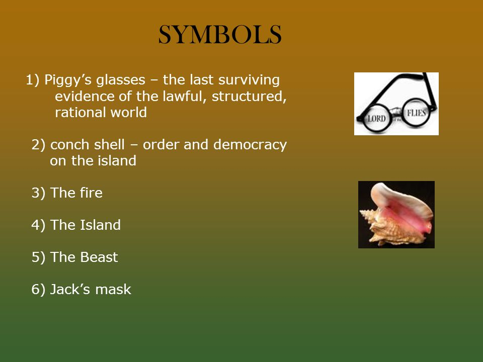 the symbolism of fire in the story of jack and piggy Lord of the flies by william golding concept/vocabulary analysis boys discover how they can light a fire with piggy's glasses and plan to keep it lit on the story the glasses are smashed by jack who is the opposing force to piggy's intellect and.