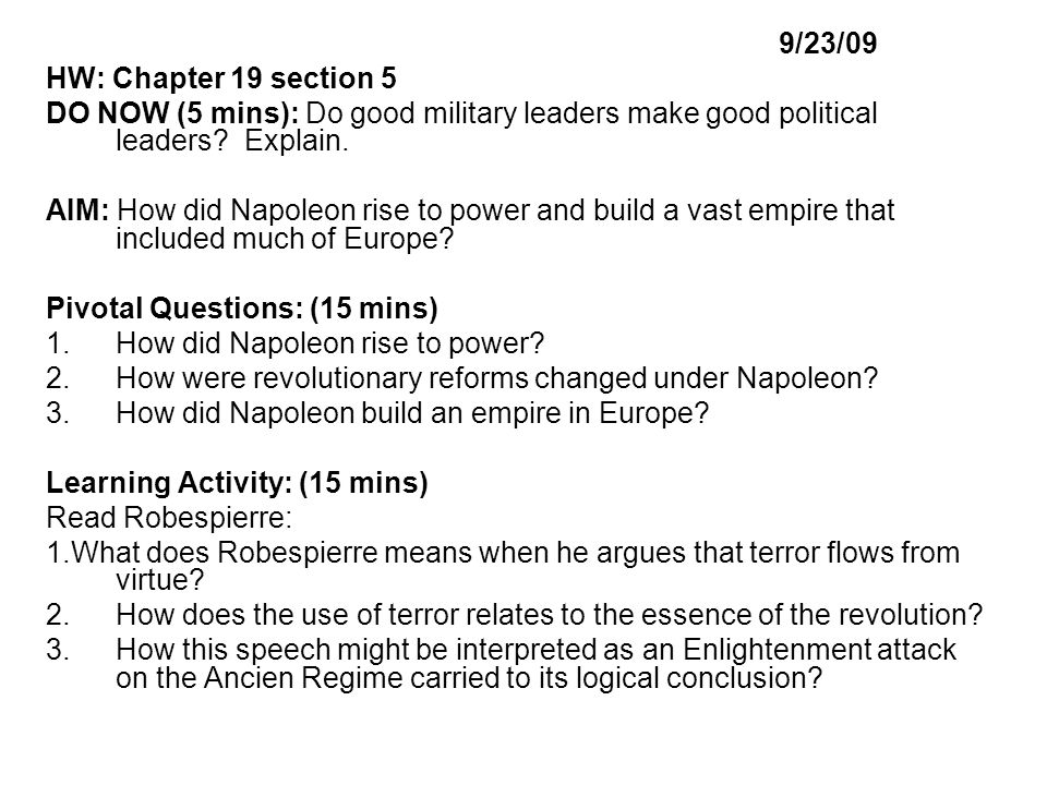 how did napoleon create and maintain power history essay Essay writing guide how does napoleon take and maintain control of animal farm to keep that power napoleon engraves fear into the animals' minds.