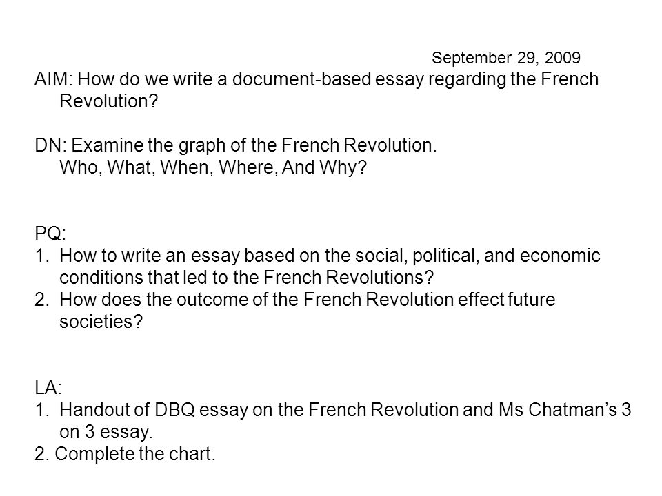 the french revolution 3 essay Free coursework on french revolution from essayukcom, the uk essays company for essay, dissertation and coursework writing.