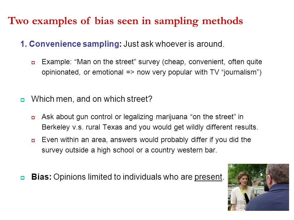 Bias Anecdotes Randomization And More Ppt Download