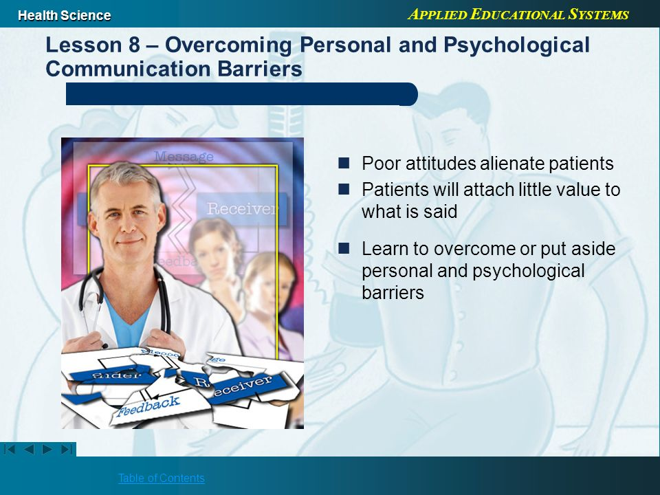 psychological barriers in communication These barriers are categorized in the way which effects the communication  psychologically in other words the psychological barriers effect the  communication in.