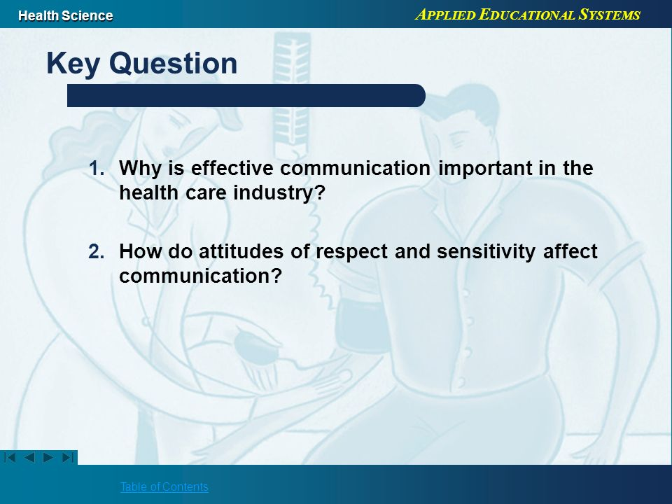 the importance of effective communication in healthcare
