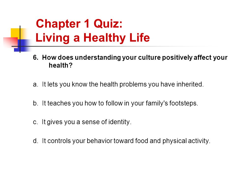 how to tell if you are healthy quiz