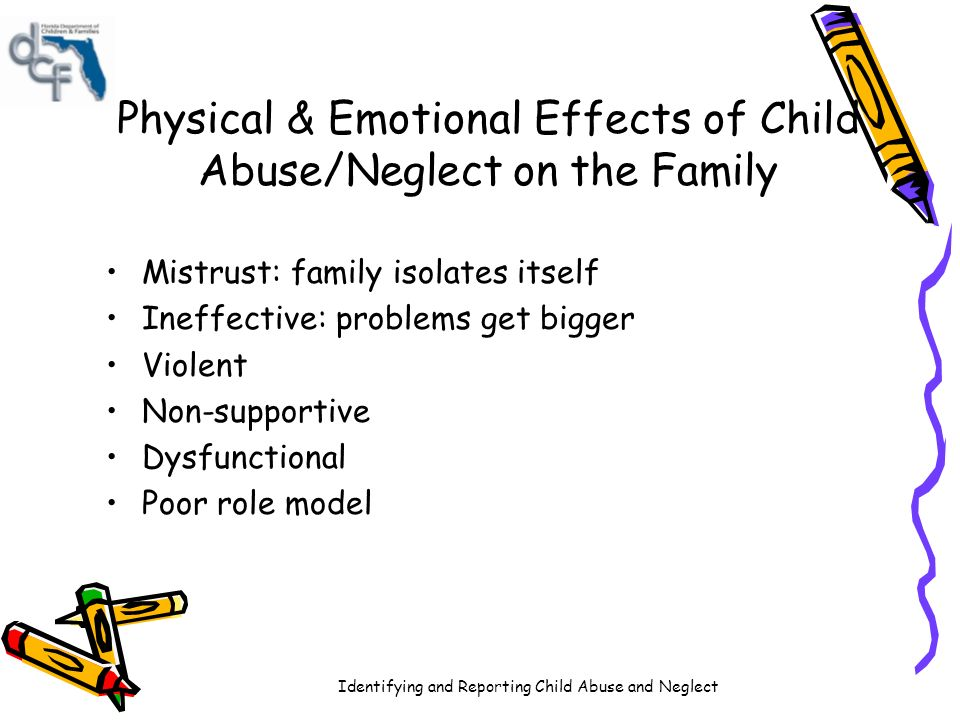 the effect of sexual abuse on the emotions of a child Child abuse can take many forms from physical to sexual even emotional find out more about child abuse in this informative article.