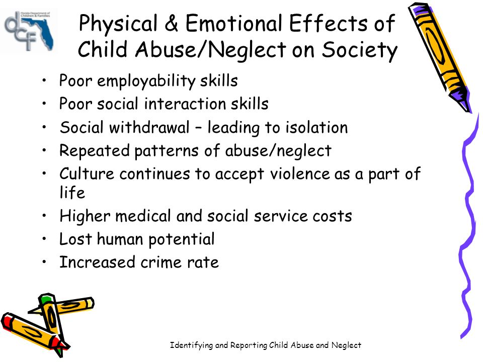 physical effects of child abuse
