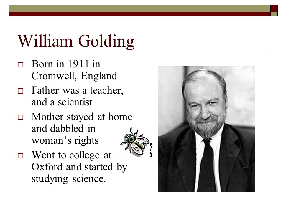 the theme of bullying in the lord of the flies by william goldings Another chinese student was sentenced to prison in the bullying case of  the  case reminded him of lord of the flies, william golding's 1954.