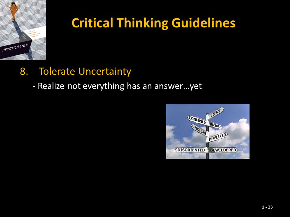 the eight guidelines to critical thinking Messagewelcomefirstpart critical thinking and reasoning message welcomesecondpart.