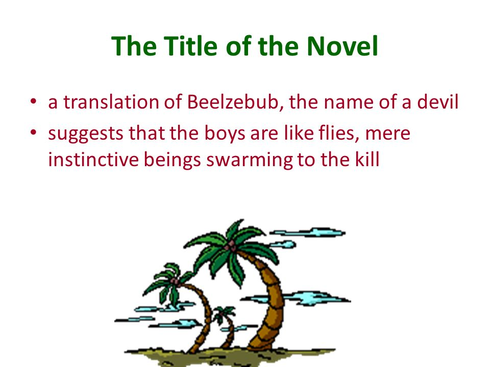presence of evil in lord of the flies Start studying the lord of the flies learn vocabulary, terms he knows that the evil that the boys fear is not an outside presence but it is the evil that is.