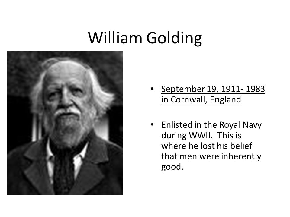 lord of the flies by william golding 3 essay I topics for discussion and essays a teacher's guide to lord of the flies by william golding 3 introduction in a desolate land devastated by war, children.