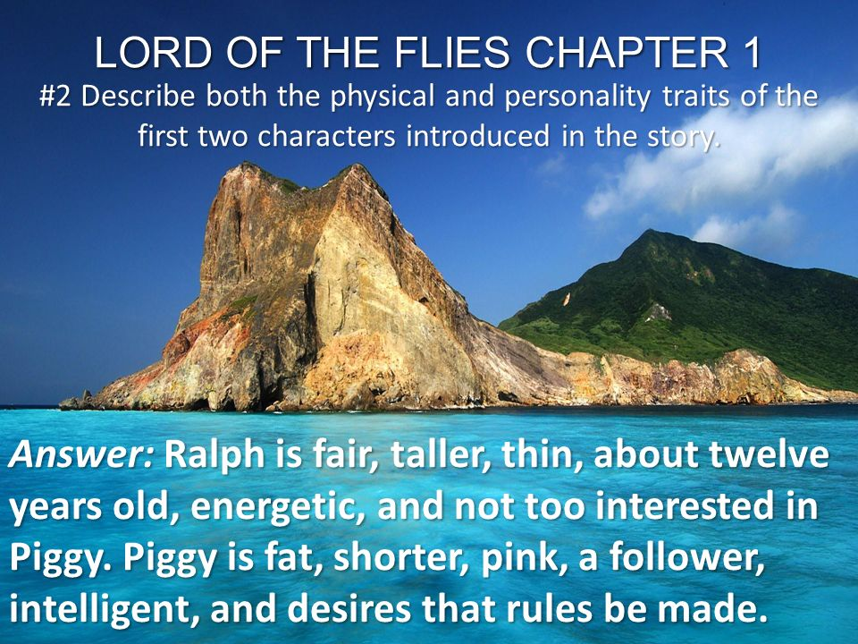 lord of the flies chapter 2 Free summary and analysis of chapter 2 in william golding's lord of the flies that won't make you snore we promise.