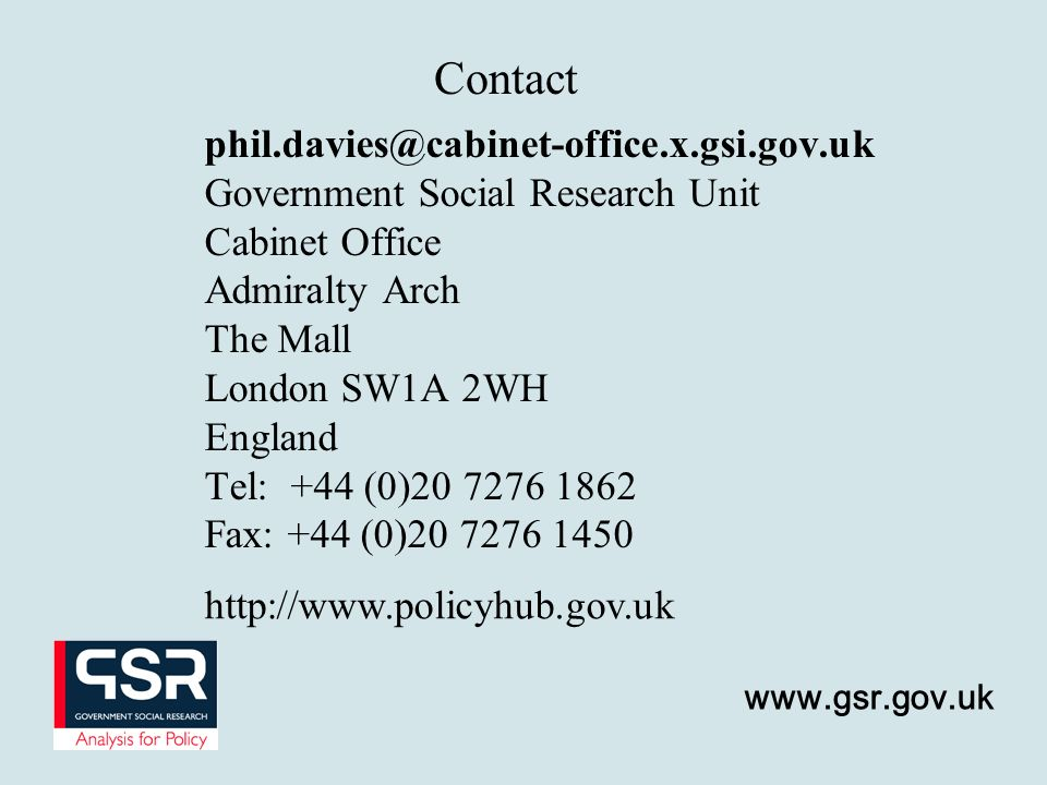 Contact phil.davies@cabinet-office.x.gsi.gov.uk