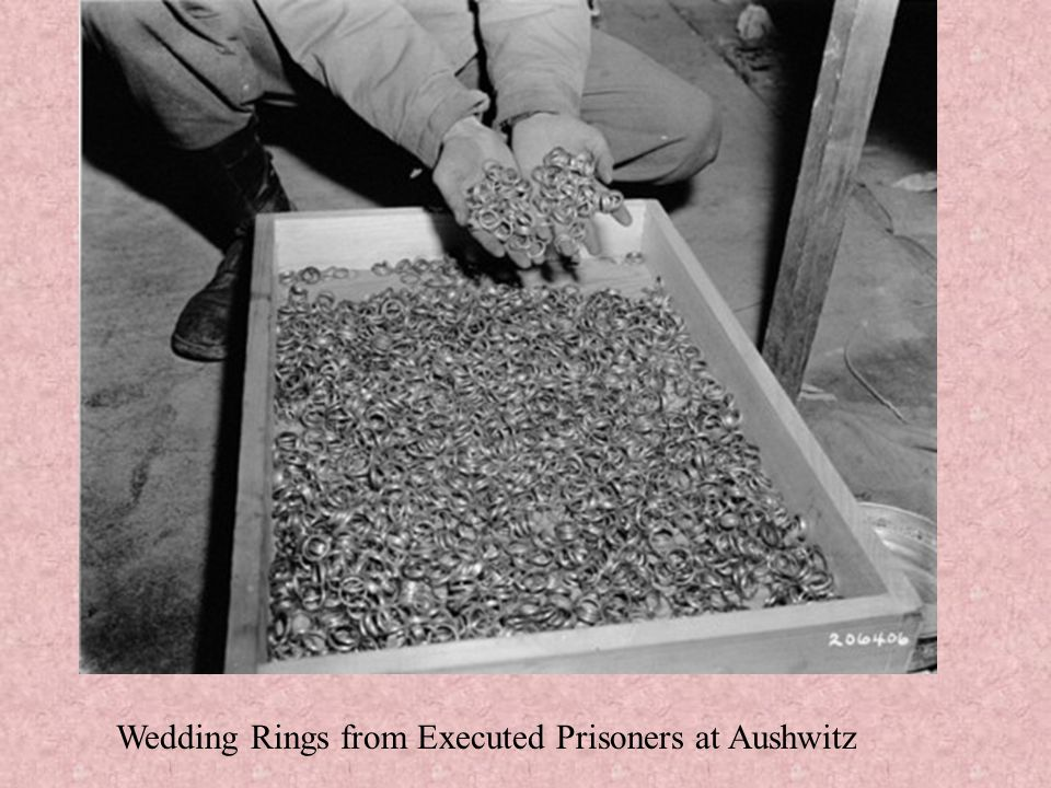Wedding Rings from Executed Prisoners at Aushwitz