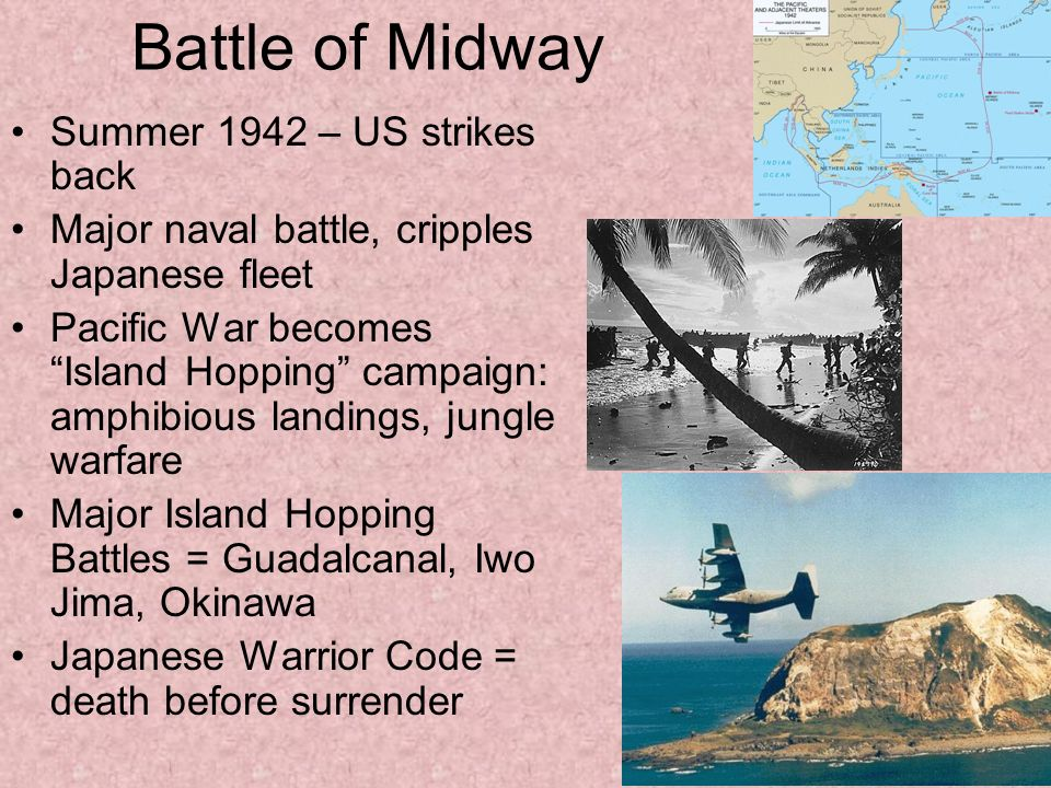 Battle of Midway Summer 1942 – US strikes back
