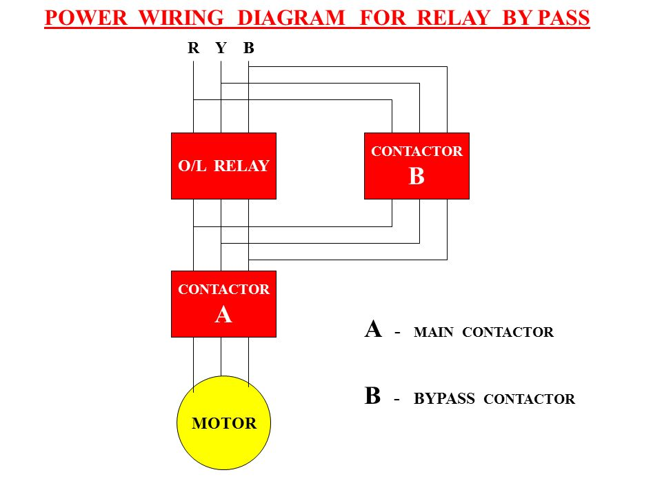 Bypass Relay Wiring Diagram : Standards low voltage below or equal to v for ac