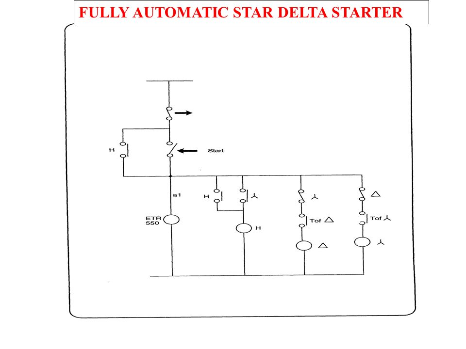 Circuit Diagram Of Semi Automatic Star Delta Starter ...