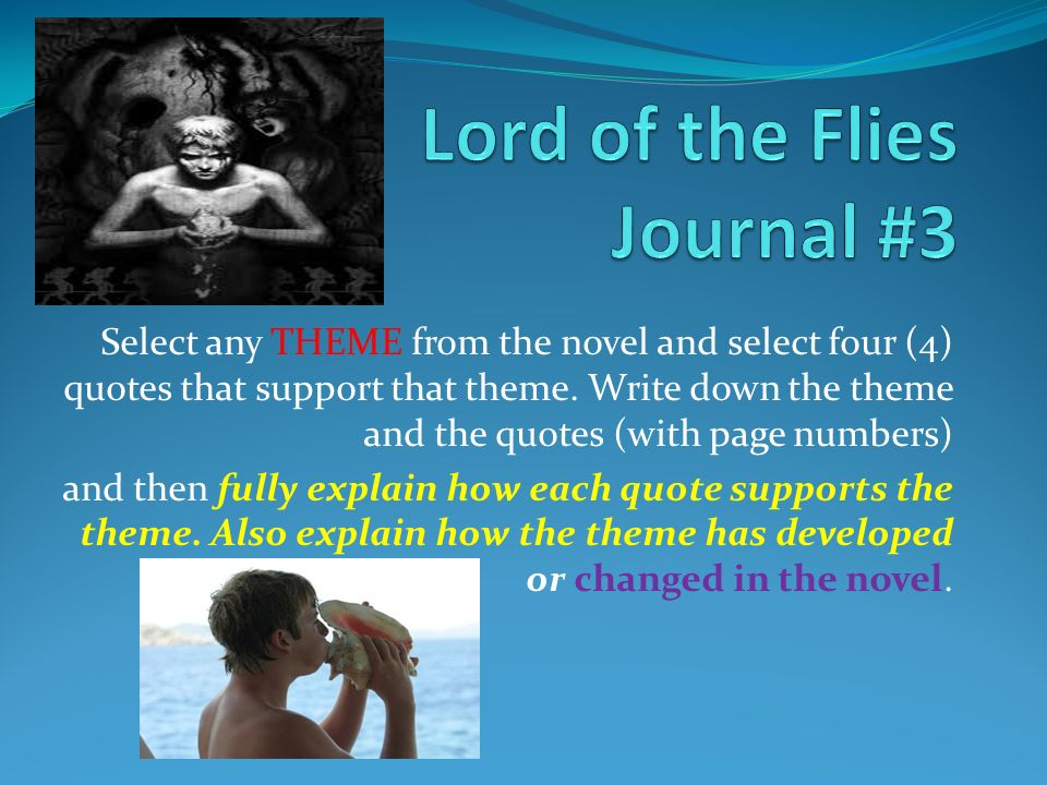 essays from lord of the flies Page 2 lord of the flies essay he is sensible and self confident, ralph represents physical well being and a democratic leader.